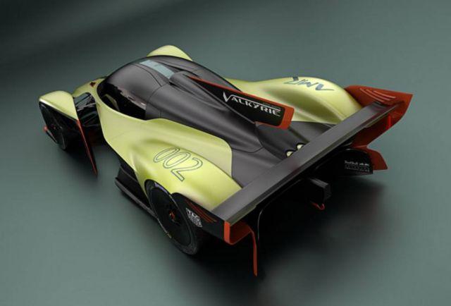 Aston Martin Valkyrie AMR Pro hypercar (3)