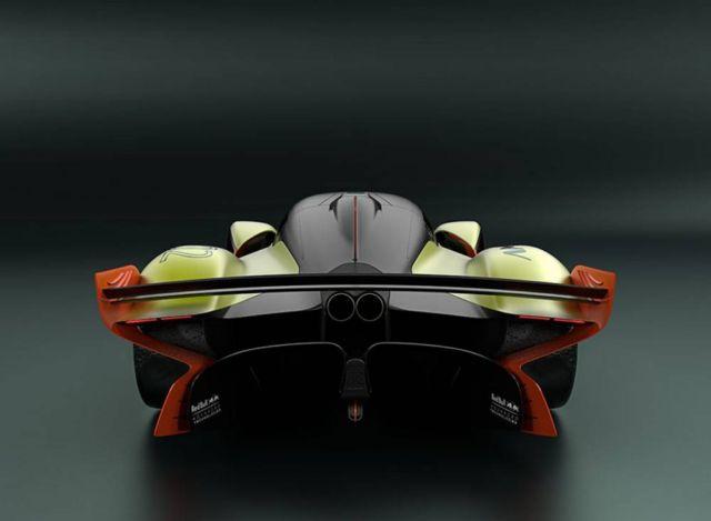 Aston Martin Valkyrie AMR Pro hypercar (2)