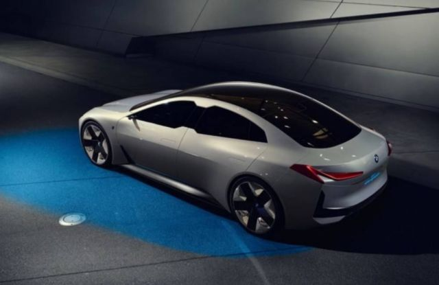 bmw i4 electric sedan