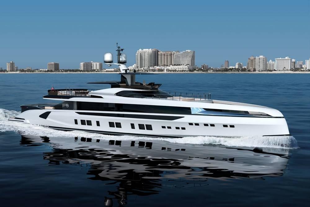 Dynamiq GTT 165 superyacht