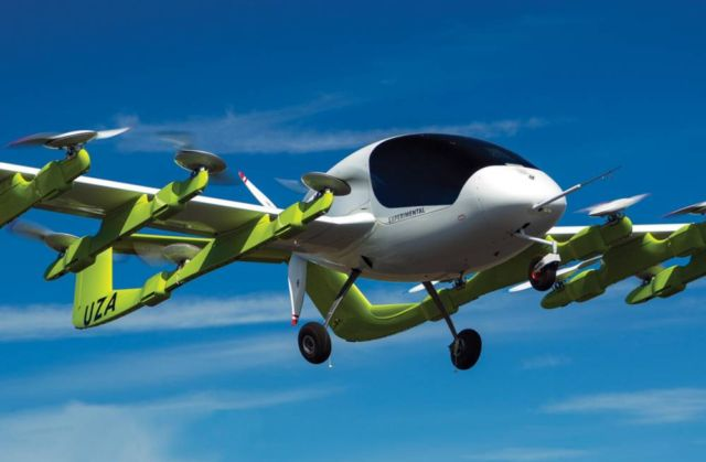 Kitty Hawk's Autonomous Air Taxi