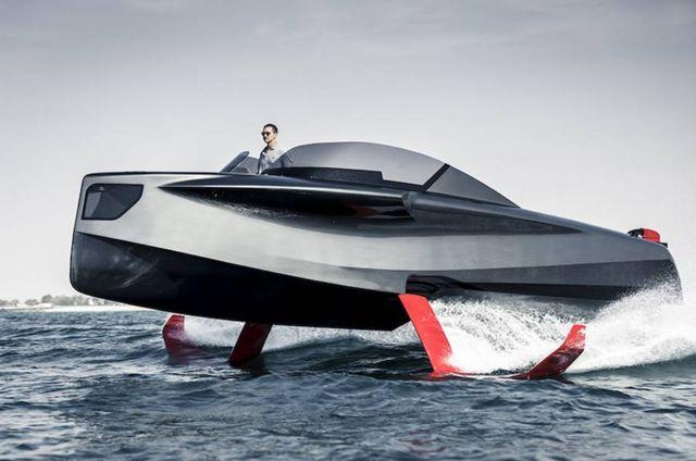 Foiler Flying boat