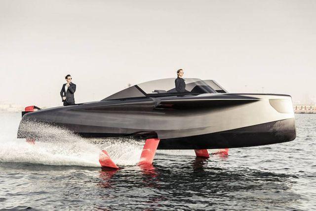 Foiler Flying boat (3)