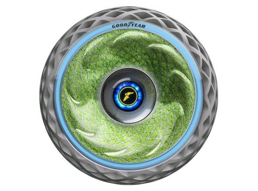 Goodyear's Oxygene Tire concept