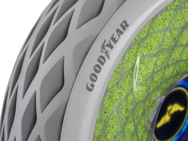 Goodyear's Oxygene Tire concept