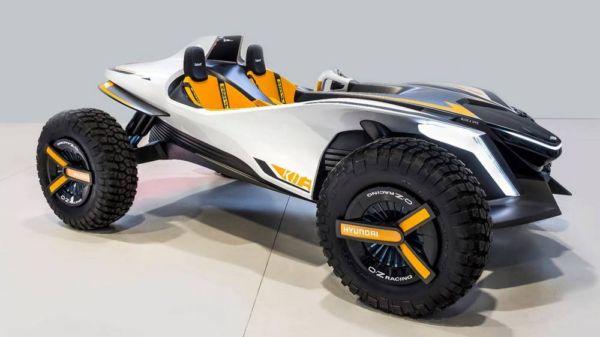 Hyundai's electric Kite Buggy concept