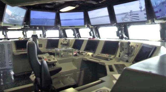 Life Aboard USS Zumwalt