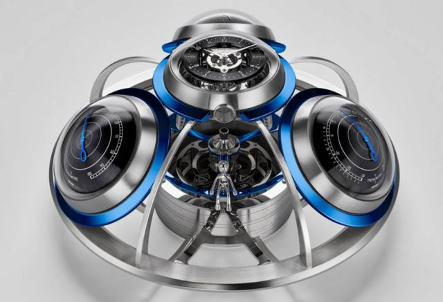 MB&F Fifth Element Weather Station