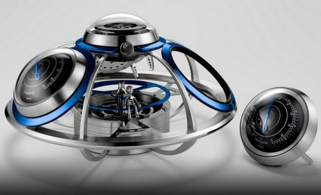 MB&F Fifth Element Weather Station (3)