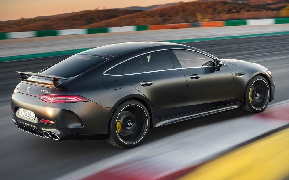 Mercedes-AMG GT 4-Door Coupe | wordlessTech