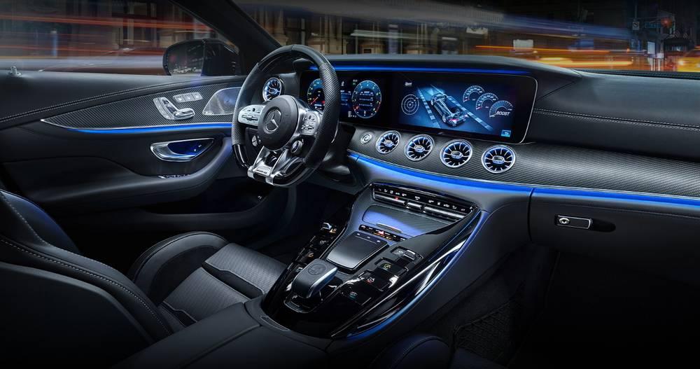Mercedes Amg Gt Performance >> Mercedes-AMG GT 4-Door Coupe | wordlessTech