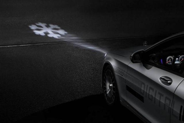 Mercedes Digital Headlight