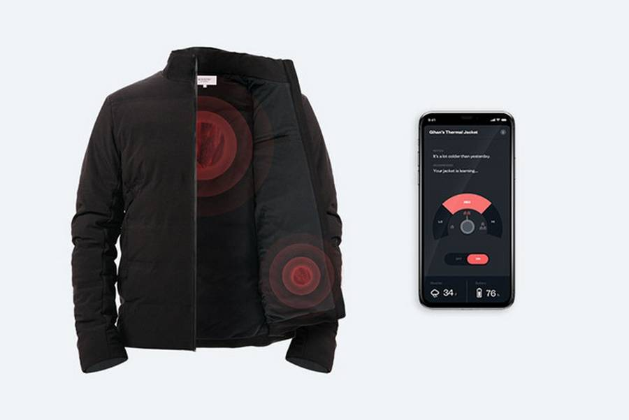 Ministry of Supply intelligent Heated Jacket