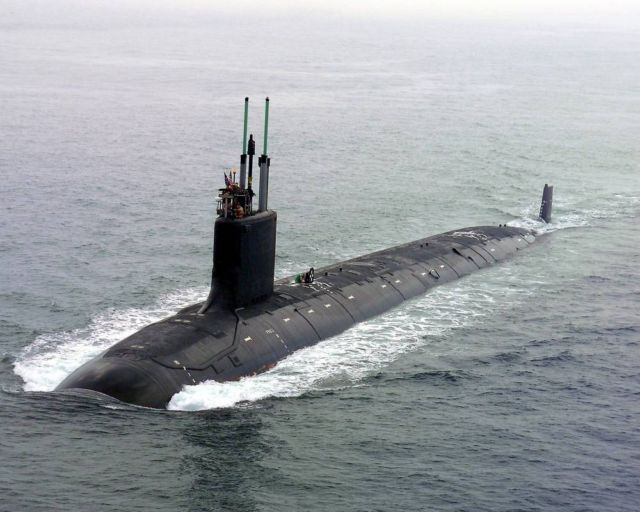 The Virginia class Nuclear Submarine