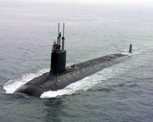 The Virginia class Nuclear Submarine