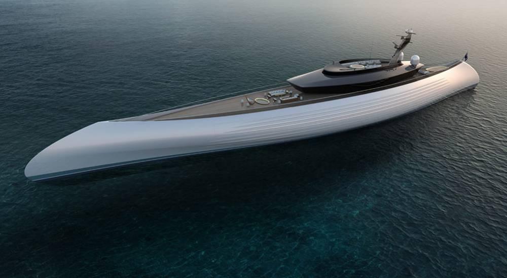Oceanco Tuhura megayacht concept