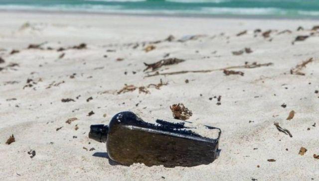 Oldest known message in a bottle was found