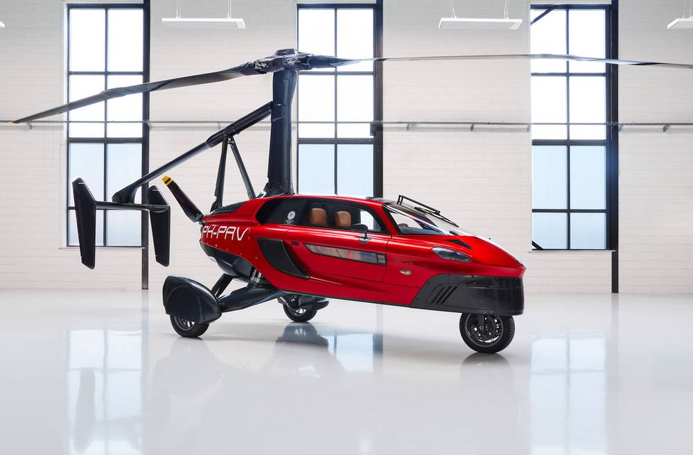 Pal-V Liberty Flying Car (6)