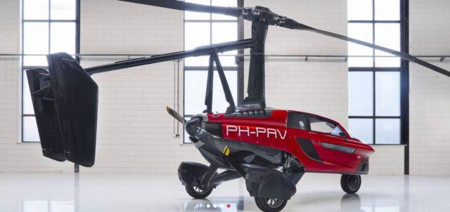 Pal-V Liberty Flying Car (5)
