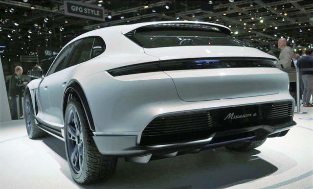 Porsche Mission E Cross Turismo concept - new video