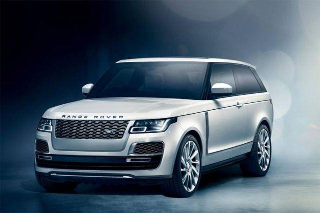 Range Rover SV Coupé luxury SUV