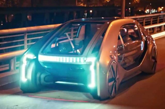 Renault EZ-GO new EV concept car