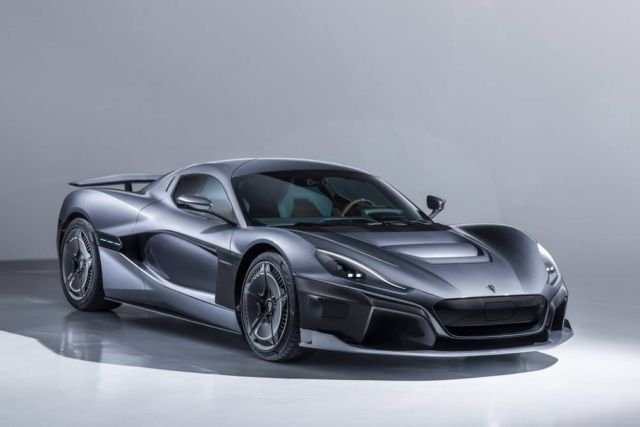 Rimac C_Two electric hypercar with 1,914 hp