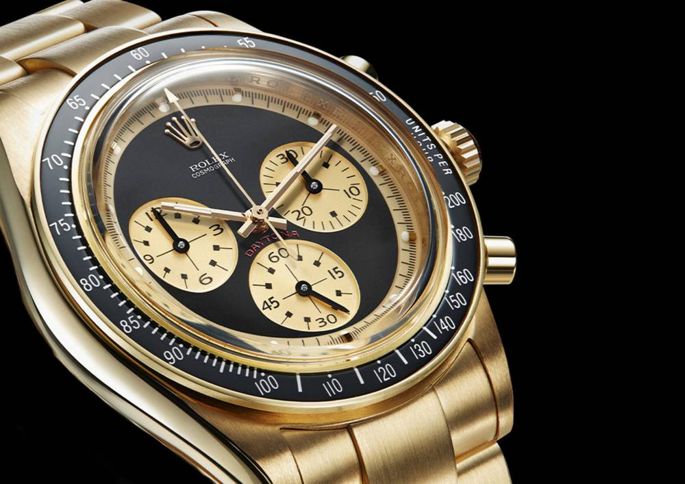 "Rolex Daytona 6241 ""Paul Newman"" recreated"