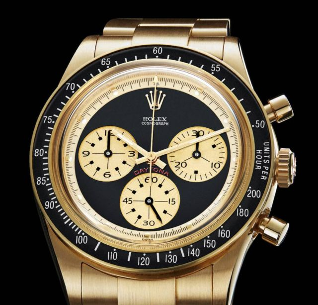 "Rolex Daytona 6241 ""Paul Newman"" recreated (4)"