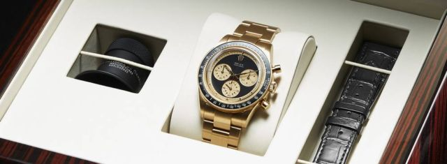 "Rolex Daytona 6241 ""Paul Newman"" recreated (2)"