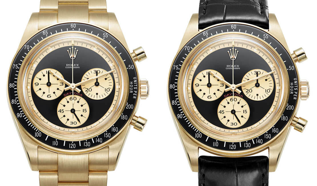 "Rolex Daytona 6241 ""Paul Newman"" recreated (1)"