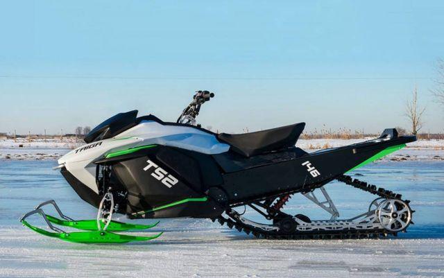 Taiga TS2 electric snowmobile (4)