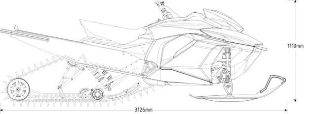 Taiga TS2 electric snowmobile (1)