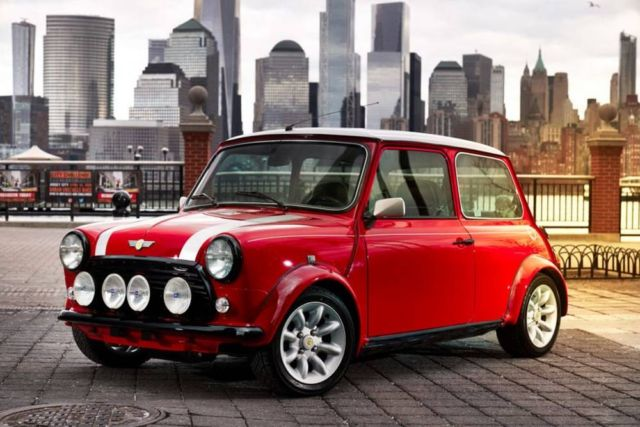 The Classic Mini Electric car
