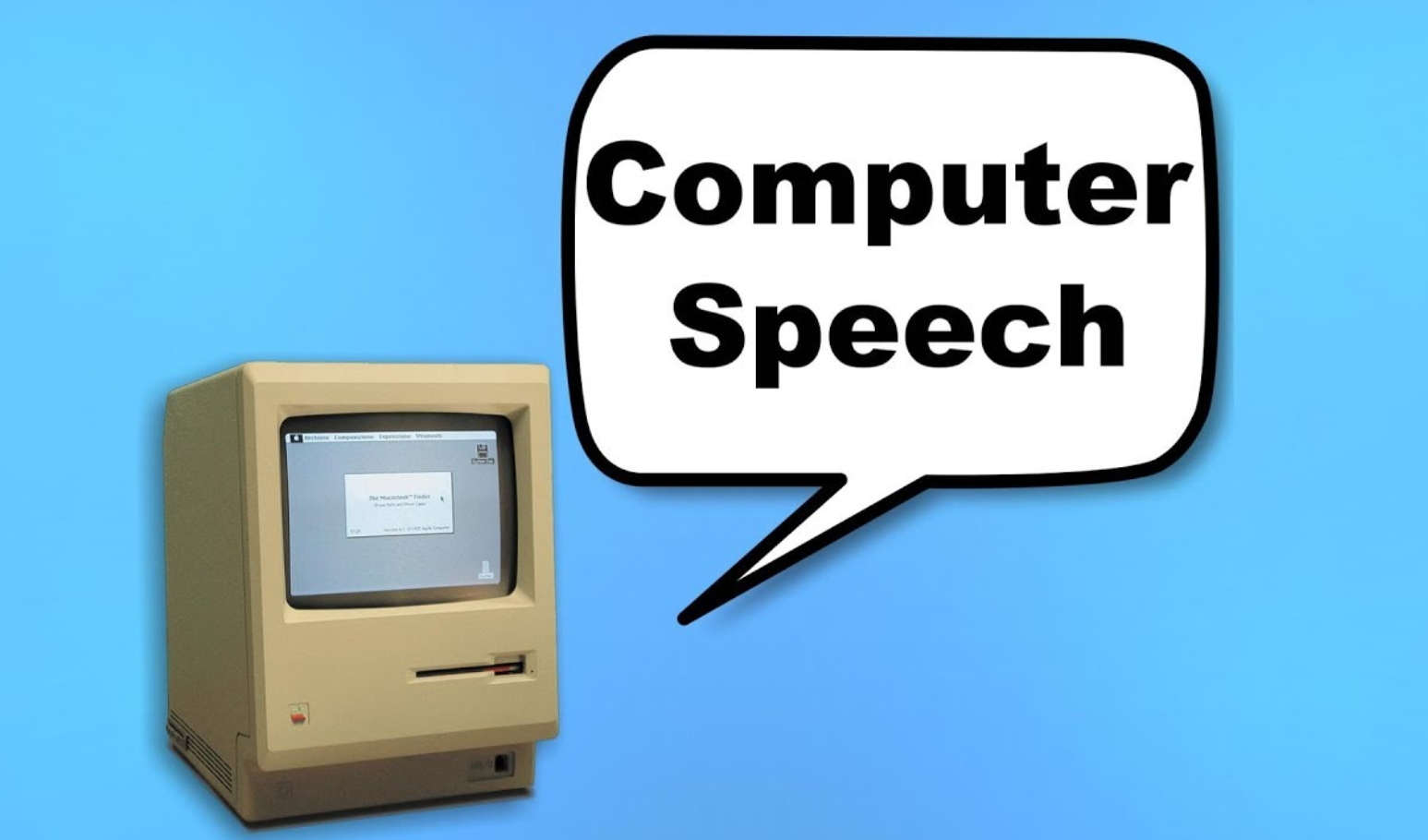The Evolution of Computer Speech