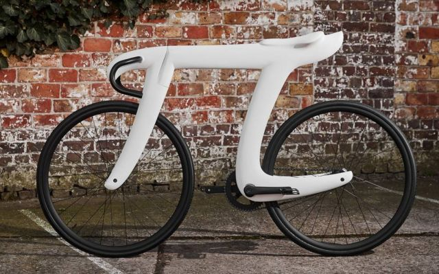 The carbon fiber Pi Bike