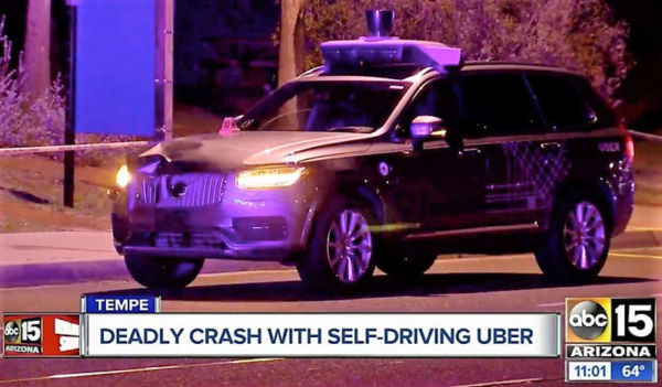 The first victim of autonomous vehicles