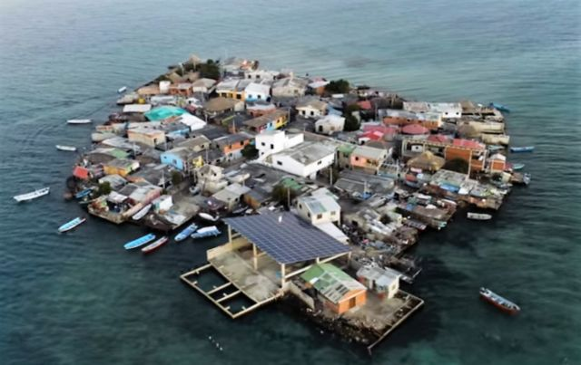 The most densely populated Island on Earth