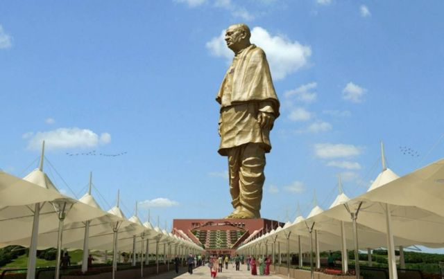 Statue of Unity the tallest Statue in the world