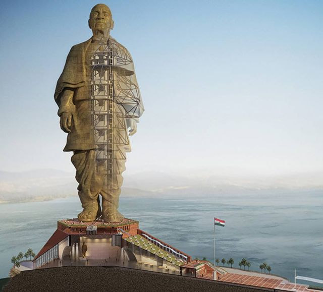 Statue of Unity the tallest Statue in the world (4)