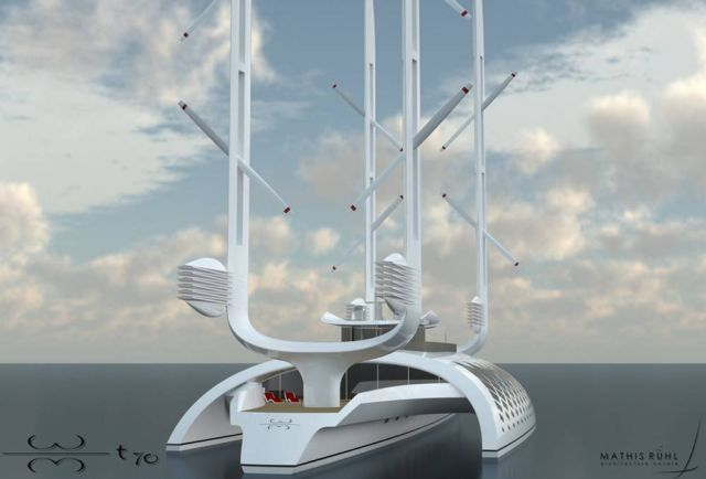 Wind Motion 70T self-sufficient boat (3)