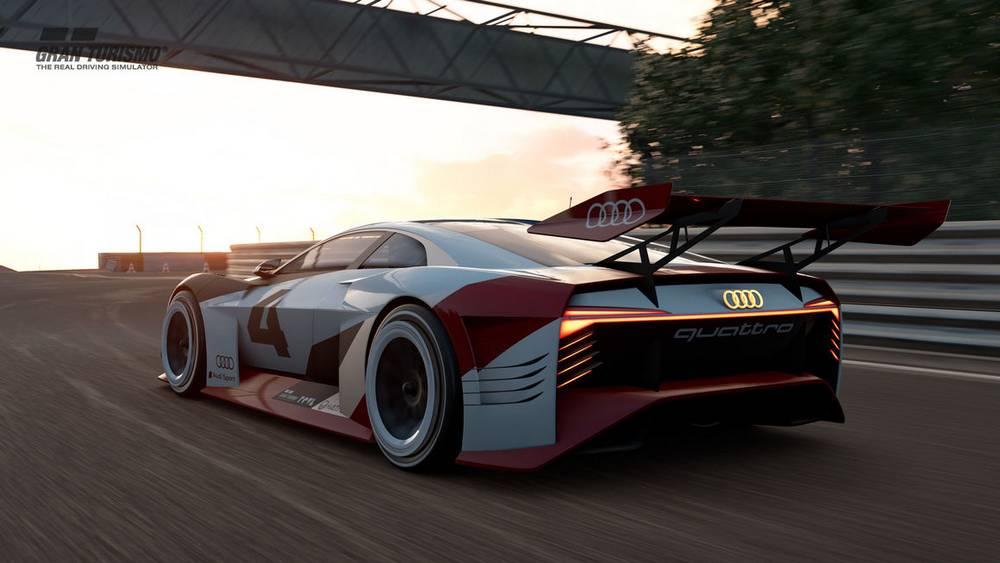 Audi e-tron Vision Gran Turismo | wordlessTech