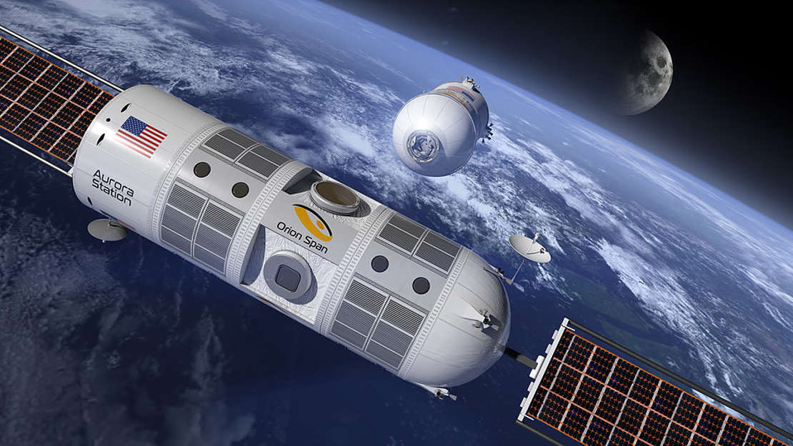 First Luxury Hotel in Space