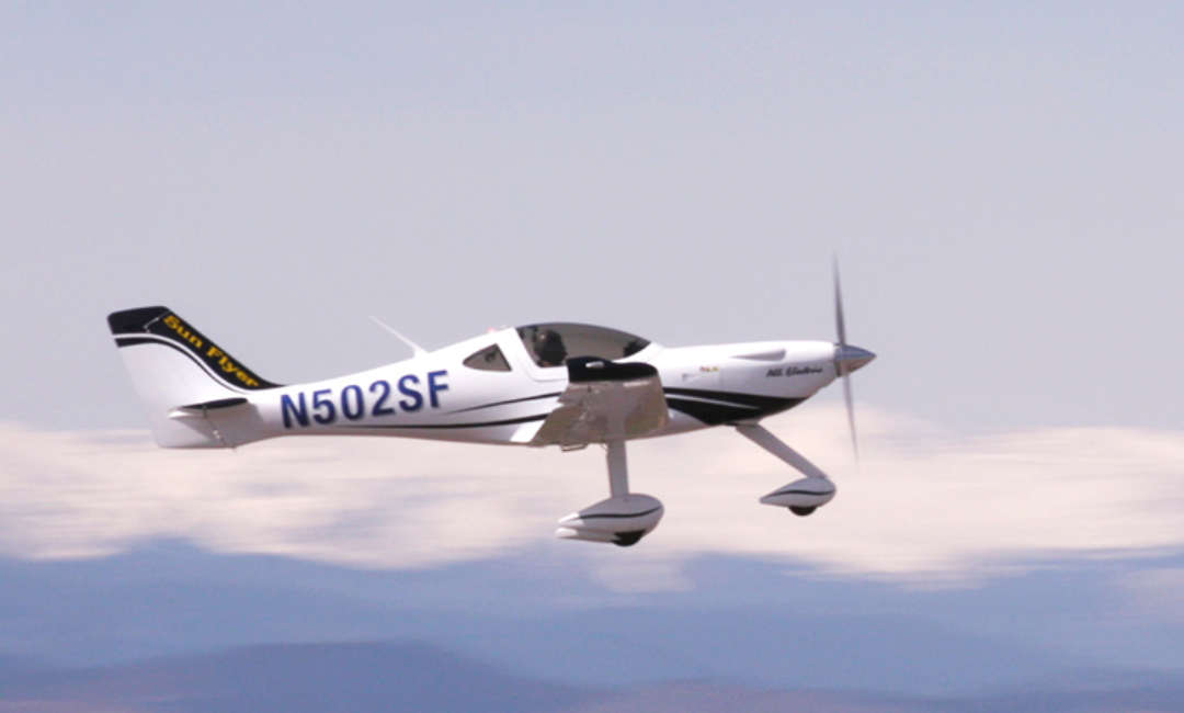 First flight for Sun Flyer 2 electric aircraft