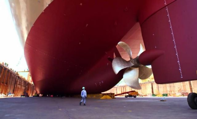 Largest Container Ship in the world