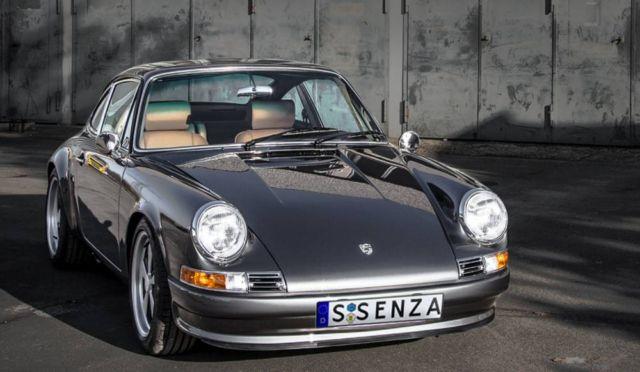 Porsche Quintessenza all-electric car