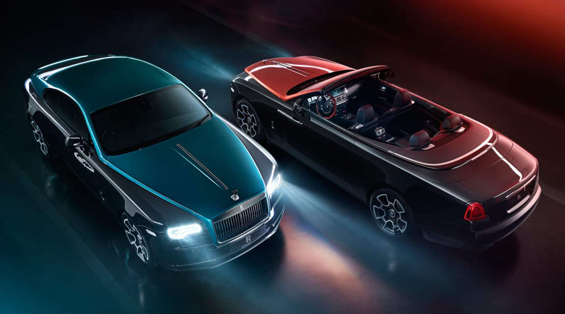 Rolls-Royce Wraith & Dawn Adamas Collection (1)
