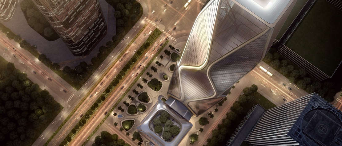 Hangzhou Wangchao Center by SOM (1)