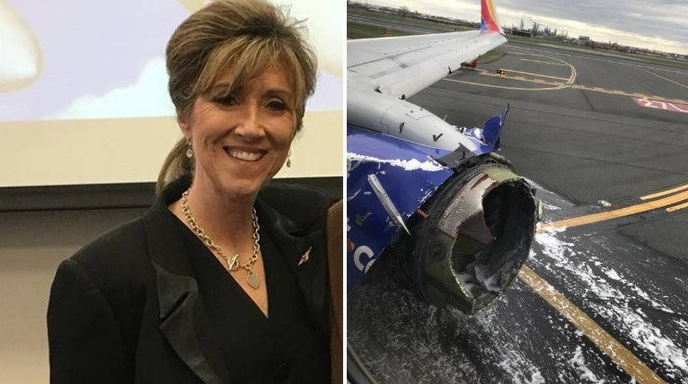 Southwest Airlines 1380 Emergency Landing hero pilot is a woman