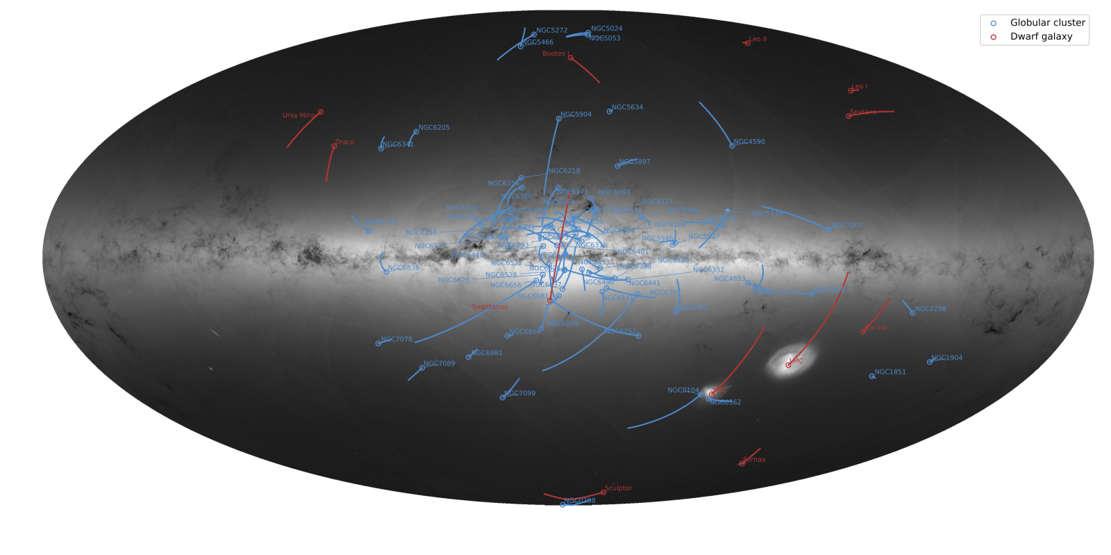 The amazing Map of 1.7 billion Stars